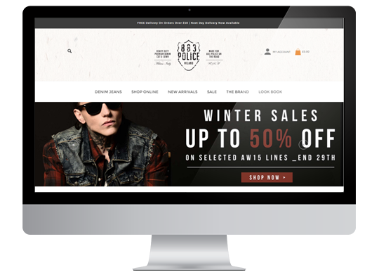 Magento Ecommerce Project